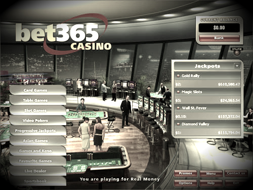 Online Casino Bet365 sued by Australian Regulator
