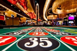 Roulette Table in a land based Casino